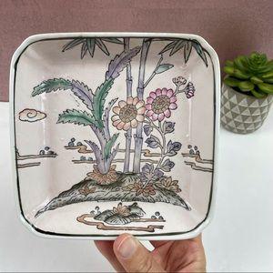 Porcelain Ware Hand Decorated Macau Flower Dish